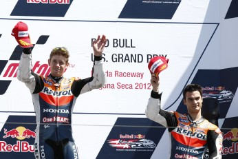 A win for Stoner at Laguna Seca