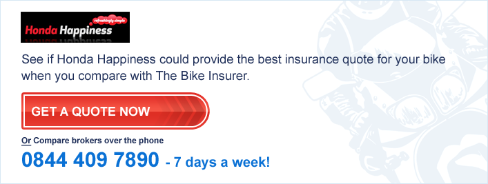 Honda Happiness Bike Insurance