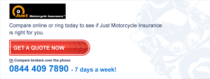 Just Motorcycle Bike Insurance