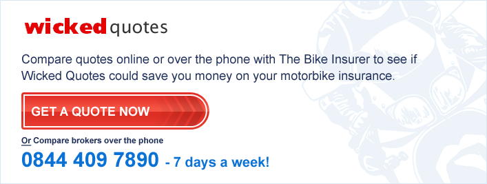 Wicked Quotes Bike Insurance