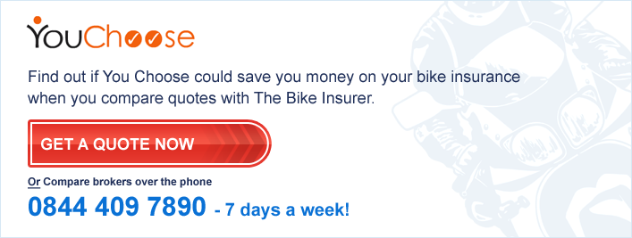 You Choose Bike Insurance