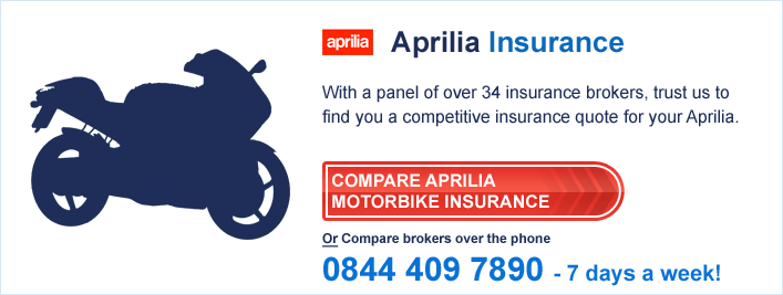 Compare Aprilia Insurance