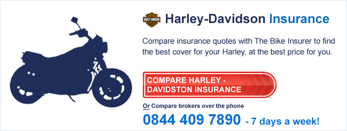 Compare Harley-Davidson Insurance