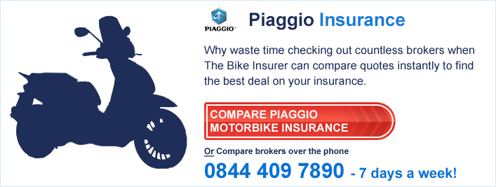 Compare Piaggio Insurance