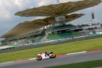 Marc Marquez completes his Malaysian test