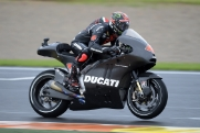 Dovizioso debuts for Ducati