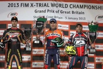 Another FIM X-Trial win for Tony Bou
