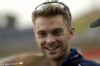 Leon Camier gets ready for first WSB test