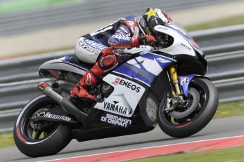 Yamaha Factory Racing 2013 makes its first appearance