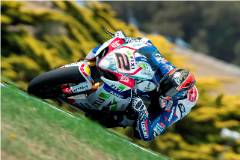 Leon Camier starts as he means to go on at Phillip Island