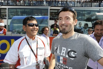 Max Biaggi kicks off his commentary career