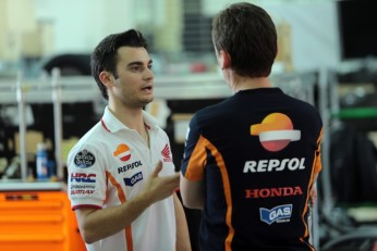 Pedrosa on top after day one of Sepang test