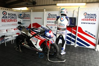 RAF Reserves Team in action at Donington
