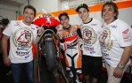 Marc Marquez keeping his feet on the ground. Q&A With Marc Marquez