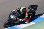 Eugene Laverty Debuts Suzuki at Jerez