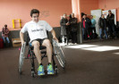 Marquez and Checa Promote Sport for People with Limited Mobility