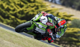 Sykes Sets Fastest Time in Aus