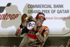 Marquez Victorious in Qatar