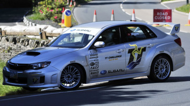 Subaru to Attempt Lap Record at the TT?