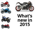 The best new motorbikes for 2015