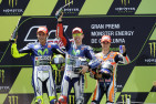 Lorenzo Makes it Four in a Row