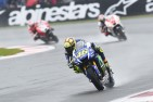 Rossi Wins to take Championship Lead